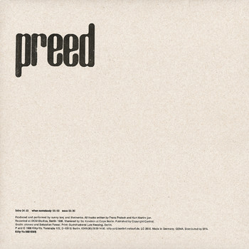Preed - Intro