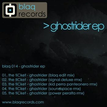 the tiCket - Ghostrider EP