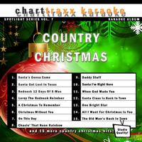 Charttraxx Karaoke - Spotlight Karaoke Vol. 7 - A Country Christmas