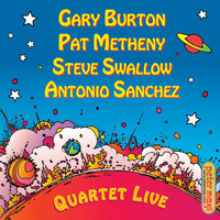Gary Burton - Quartet Live! (Digital PDF Booklet)