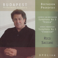"Budapest Philharmonic Orchestra - Beethoven ""Eroica"" Symphony & Prokofiev ""Classical"" Symphony"