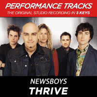 Newsboys - Thrive (Performance Tracks) - EP