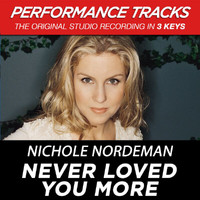 Nichole Nordeman - Never Loved You More (Performance Tracks) - EP