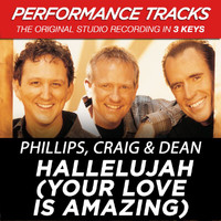 Phillips, Craig & Dean - Hallelujah (Your Love Is Amazing) (Performance Tracks)
