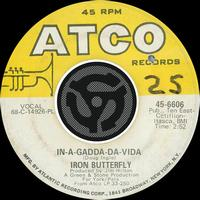 Iron Butterfly - In-A-Gadda-Da-Vida / Iron Butterfly Theme [Digital 45]