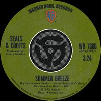 Seals & Crofts - Summer Breeze / East Of Ginger Trees [Digital 45]