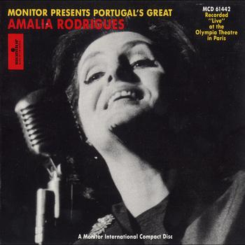 Amália Rodrigues - Portugal's Great Amália Rodrigues Live at the Olympia Theatre in Paris