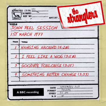 The Stranglers - John Peel Session [1 March 1977] (1 March 1977)