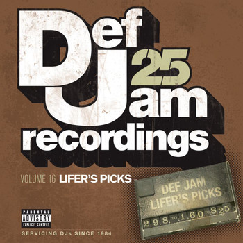 Various Artists - Def Jam 25, Vol 16 - Lifer's Picks: 298 to 160 to 825 (Explicit Version)