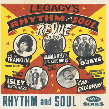 Various Artists - Legacy's Rhythm & Soul Revue
