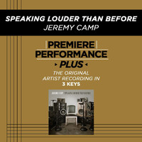 Jeremy Camp - Premiere Performance Plus: Speaking Louder Than Before