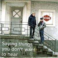 My Darling YOU! - Saying Things You Don´t Want To Hear