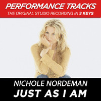 Nichole Nordeman - Just As I Am (Performance Tracks) - EP