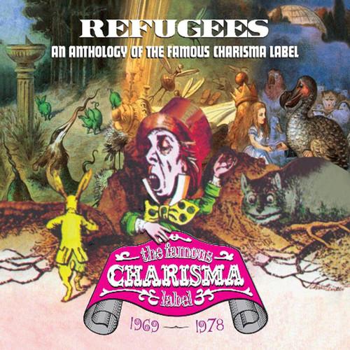 """Vaizdo rezultatas pagal užklausą """"Refugees: A Charisma Records Anthology 1969-1978"""""""