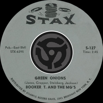 Booker T. & The MG's - Green Onions / Behave Yourself [Digital 45]