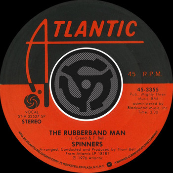 Spinners - The Rubberband Man / Now That We're Together [Digital 45]