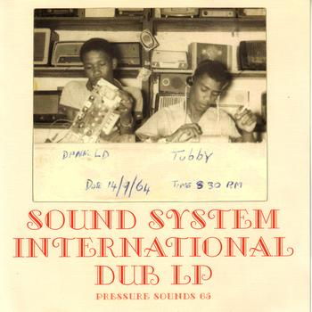 King Tubby & The Clancy Eccles All Stars - Sound System International Dub LP