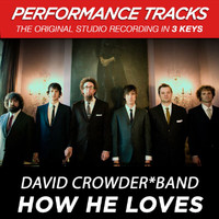 David Crowder Band - How He Loves (Performance Tracks)