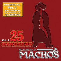 Banda Machos - 25 Bandazos de Machos (Vol. 2) (USA)