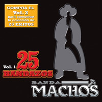 Banda Machos - 25 Bandazos de Machos (Vol. 1) (USA)