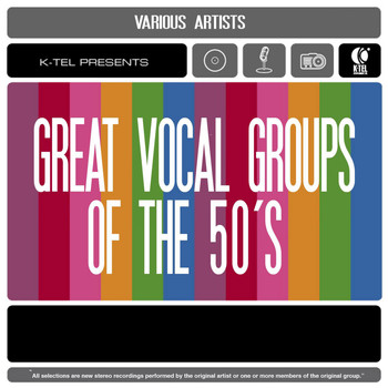 Various Artists - Great Vocal Groups of the 50's