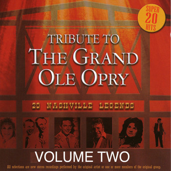 Various Artists - Tribute to the Grand Ole Opry - Vol. 2