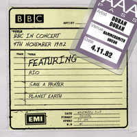 Duran Duran - BBC in Concert (4th November 1982, Recorded at Hammersmith Odeon 4/11/82 tx 11/12/82)