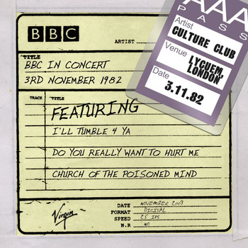 Culture Club - BBC In Concert