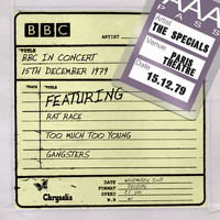 The Specials - BBC In Concert [15th December 1979, In Concert Paris Theatre recorded: 15/12/79]