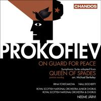 Neeme Jarvi - PROKOFIEV, S.: Queen of Spades Suite / On Guard for Peace (Royal Scottish National Orchestra, N. Jar