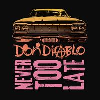 Don Diablo - Never Too Late