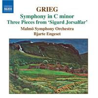 Bjarte Engeset - GRIEG: Orchestral Music, Vol. 3 - Symphony in C minor / Old Norwegian Romance with Variations