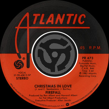 Firefall - Christmas In Love / Always [Digital 45]