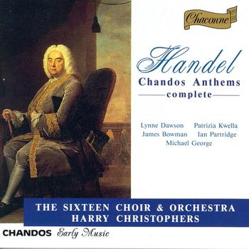 Lynne Dawson - HANDEL: Chandos Anthems