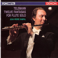 Jean-Pierre Rampal - Telemann: Twelve Fantasias for Flute Solo