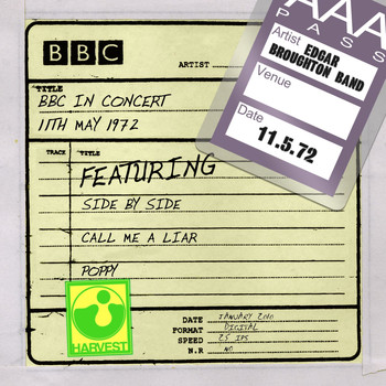 The Edgar Broughton Band - BBC In Concert (11th May 1972)