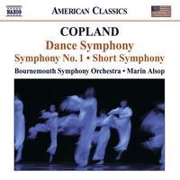 Bournemouth Symphony Orchestra - COPLAND, A.: Dance Symphony / Symphony No. 1 / Short Symphony (Bournemouth Symphony, Alsop)