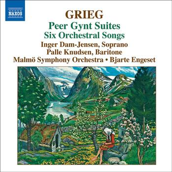 Bjarte Engeset - GRIEG: Orchestral Music, Vol. 4 - Peer Gynt Suites / Orchestral Songs