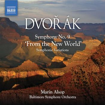 "Marin Alsop - DVORAK, A.: Symphony No. 9, ""From the New World"" / Symphonic Variations (Alsop)"