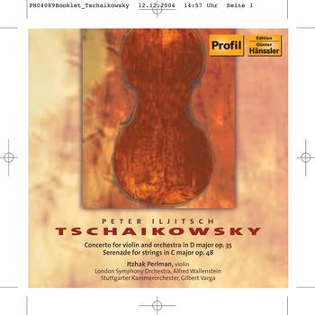 Itzhak Perlman - TCHAIKOVSKY: Violin Concerto / Serenade for Strings