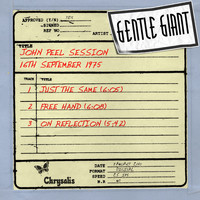 Gentle Giant - John Peel Session