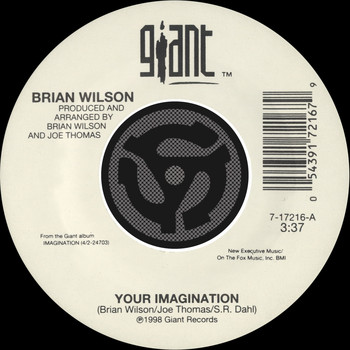 Brian Wilson - Your Imagination / Your Imagination [A Cappella] [Digital 45]