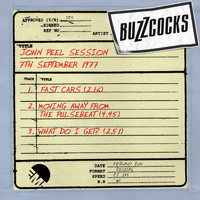 Buzzcocks - John Peel Session [7th September 1977] (7th September 1977)