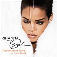 Rihanna - Redemption Song (For Haiti Relief (Live From Oprah))