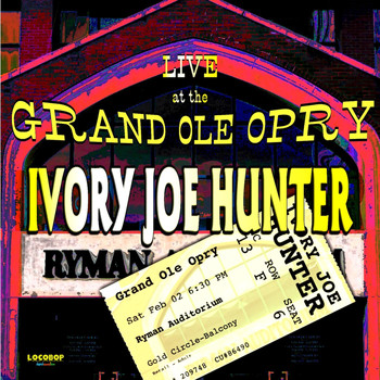 Ivory Joe Hunter - Live At The Grand Ole Opry