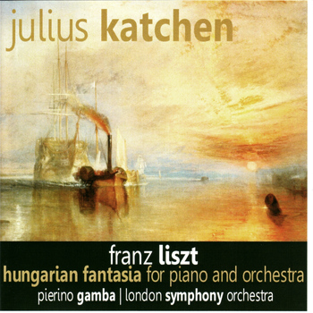 Julius Katchen - Liszt: Hungarian Fantasia for Piano and Orchestra