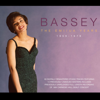 Shirley Bassey - Bassey - The EMI/UA Years 1959-1979