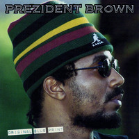 President Brown - Original Blue Print