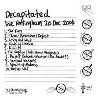 Decapitated - Live Nottingham Rescue Rooms 20th Dec 2004