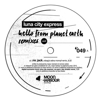 Luna City Express - Hello From Planet Earth Remixes Vol.2